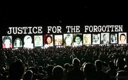 Justice for the Forgotten - U2