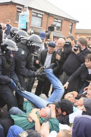 Policing and demonstration in Northern Ireland