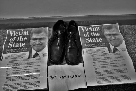 Pat Finucane shoes