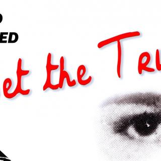 Set the truth free banner